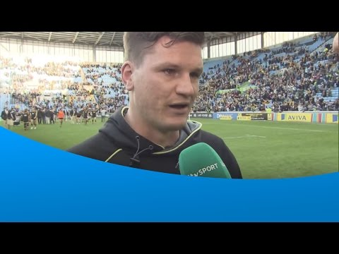 Freddie Burns' emotional interview after Leicester Tigers' loss to Wasps