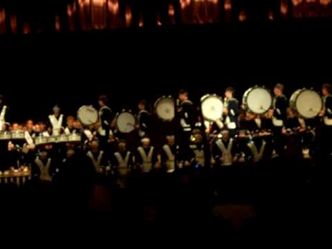 Abington Heights Marching Band Drumline 2005-2006