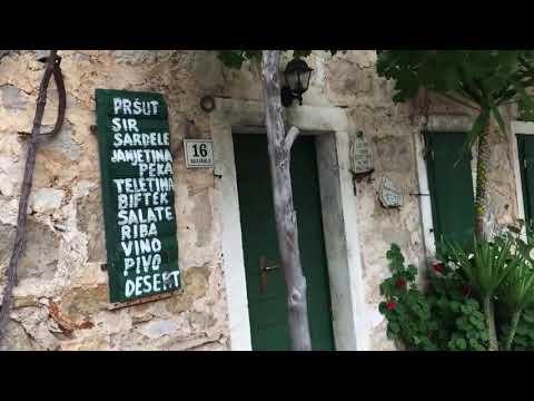 Croatia - Island Hvar - Malo Grablje - Conoba 'Stori Komin'
