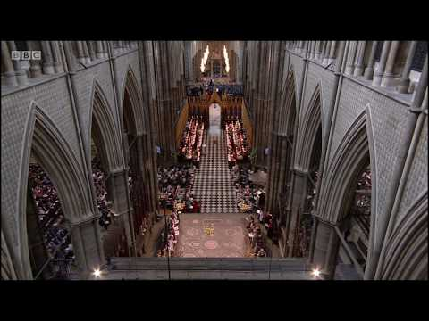 Guide Me, O Thou Great Redeemer (+lyrics) - Westminster Abbey RAF Centenary Service