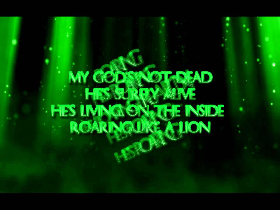 Lyric god is dead lyrics : God's not dead - Newsboys (lyrics) - YouTube