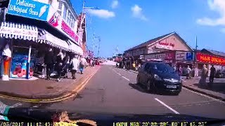 Nottingham to Mablethorpe time lapse dashcam