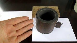 Как сделать тигель, для получения золота из камней