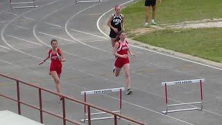 J. M. Tate HS Track Meet - Girl's 300 Meter Hurdles -  03/26/2019