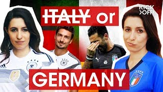 I am Italian - can I support Germany at the FIFA World Cup 2018 in Russia?