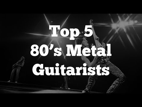 Top 5 80's Metal Guitarists of All-Time |
