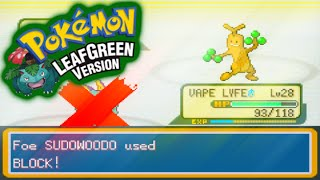 "Pokemon LeafGreen (Randomizer Nuzlocke) Ep. 14 - ""...Block? Really? Grow Up"""