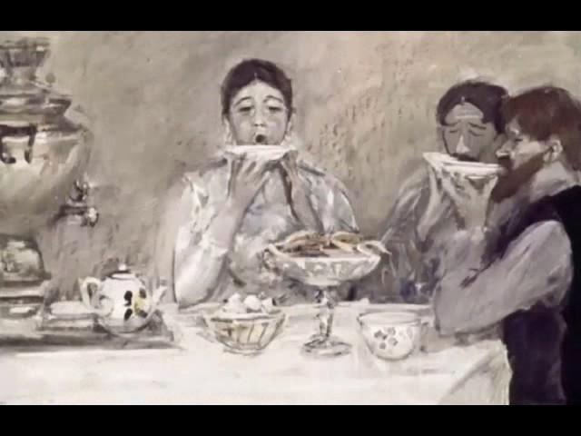 Изображение предпросмотра прочтения – АртёмКанунов представляет буктрейлер кпроизведению «Ванька» А.П.Чехова