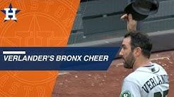 Verlander dominates Yanks, tips cap to booing Bronx crowd