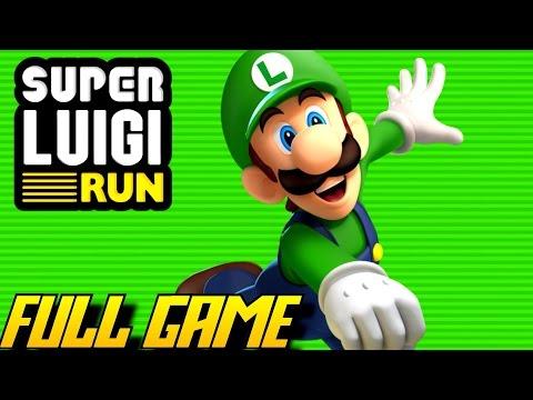 Super Luigi Run - FULL Game (Complete Walkthrough)