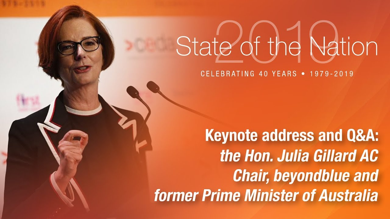 The Hon. Julia Gillard AC