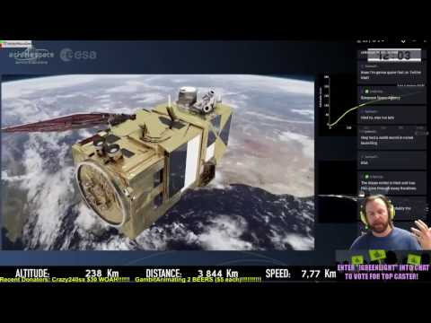 Vega Sentinel 2B Launch by European Space Agency ESA