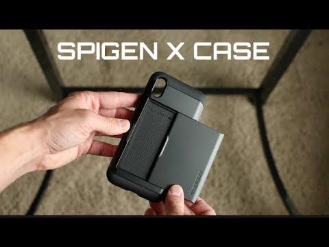 reputable site 42e36 af9b8 Spigen IPHONE X case UNBOXING