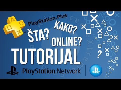KAKO PODESITI PS4 ZA ONLINE GAMING? - PS Network - PS Plus - TUTORIJAL [PCAXE.COM]
