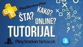 KAKO PODESITI PS4 ZA ONLINE GAMING? - PS Network - PS Plus - TUTORIJAL [PCAXE.COM]