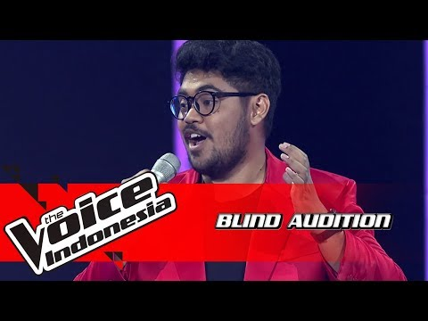 Abraham - Vittoria, Mio Core | Blind Auditions | The Voice Indonesia GTV 2018