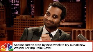 Aziz Ansari and Jimmy Dramatically Read Bad Yelp Reviews by : The Tonight Show Starring Jimmy Fallon