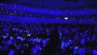 E.L.F-JAPAN Sapphire Blue ocean wave at TOKYO DOME