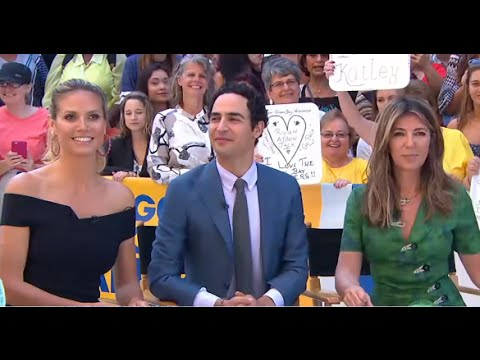 Project Runway | Heidi Klum, Nina Garcia, Zac Posen Judge Runway GMA