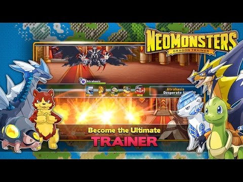 NEO MONSTERS - iOS / Android Gameplay Trailer