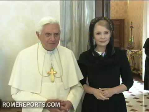 Pope receives Ukraine