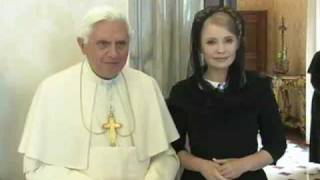 Pope receives Ukraine