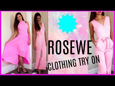 7dace1cfaaf Rosewe Reviews   Haul Outfits To Wear. Jumpsuit
