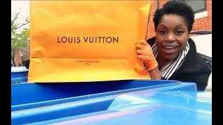 It's An AMAZING DAY DUMPSTER DIVING FOR LOUIS VUITTON🤑💰💵