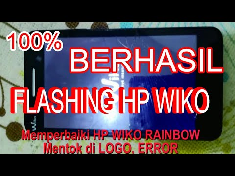 cara-flashing-hp-wiko-rainbow-mentok-di-logo
