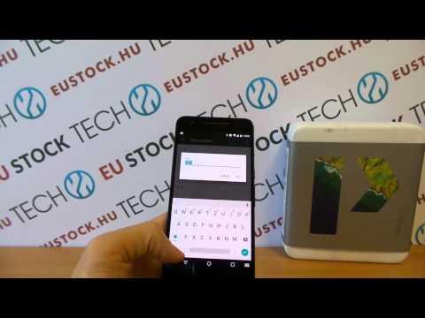 Google Nexus 6P Android 6.0 bemutató videó