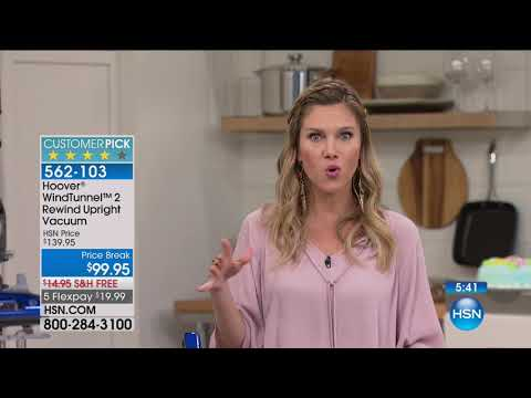 HSN | Home Solutions featuring Hoover 08.20.2017 - 08 AM