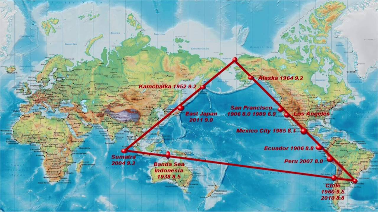 Super Quake Warning Triangle Of Fire Ring Of Fire Dr Sol Adoni Mega