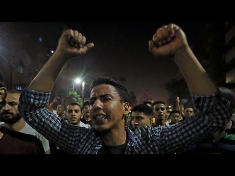 مظاهرات في القاهرة وعدة محافظات مصرية تطالب بتنحي السيسي…  - نشر قبل 4 ساعة