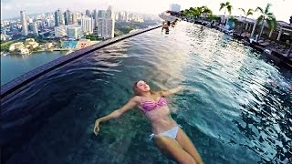 The World S Highest Infinity Pool At MARINA BAY SANDS