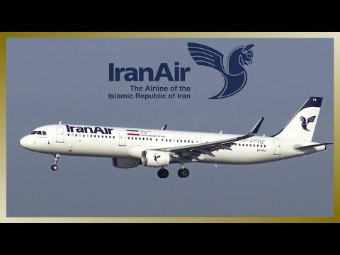 IRAN AIR Airbus A321 | EP-IFA | Landing and Takeoff at Hamburg Airport