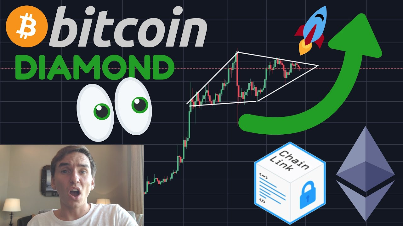 THIS BITCOIN DIAMOND PATTERN COULD BREAKOUT TODAY!!!! CHAINLINK EXPLODING!!!!
