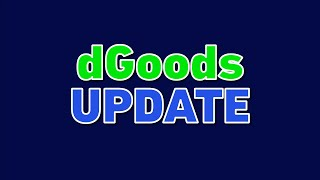 dGoods Update: New Partners & New Features! (NFT / SFT standard on EOS)