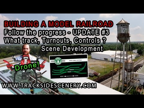 BUILDING A MODEL RAILROAD –  Layout Update #3