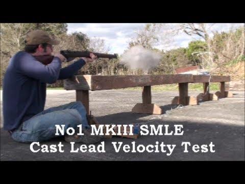 No1 MKIII Cast Lead Velocity Test