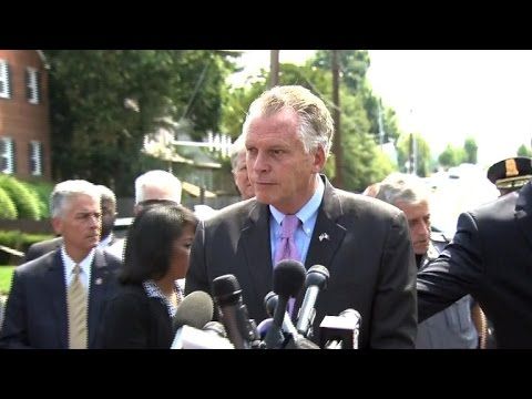 """Virginia Gov. Terry McAuliffe: """"There are too many guns in the streets"""""""