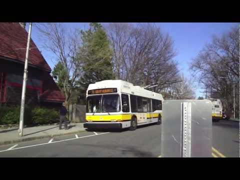 Trolleybuses of Boston (Trackless Trolley of the MBTA)