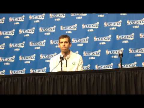 Boston Celtics head coach Brad Stevens emotional on Isaiah Thomas, family tragedy