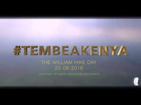 #TEMBEAKENYA William Hill Hike 2016 - KENYA OUTDOORS TOURS AND TRAVEL