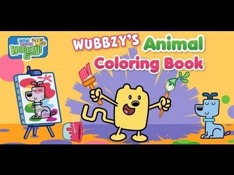 Wubbzys Animal Coloring Book