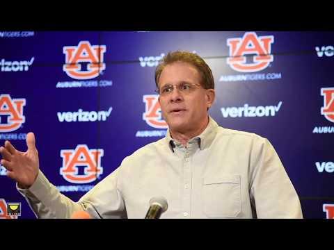 Watch Gus Malzahn discuss the upcoming SEC Championship