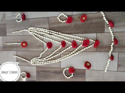 Easy flower jewellery Making