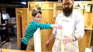 TWL 8 - Woodworkers Fighting Cancer 2015 (Modified) Kids' Table & Chair