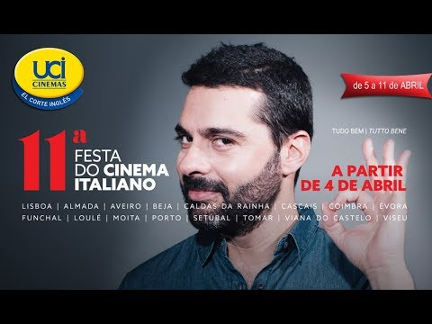 11ª Festa do Cinema Italiano - Trailer Oficial UCI Cinemas