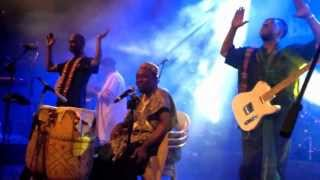 OSIBISA Concert singing Raghupati Raghava Raja Ram @ Bangalore 03-May-13