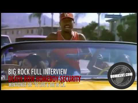 Big Rock Full Interview: 2Pac, Security and The Row